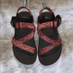 Girls Coral Chacos